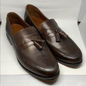 Allen Edmonds Hyde Street Brown Tassel Loafers